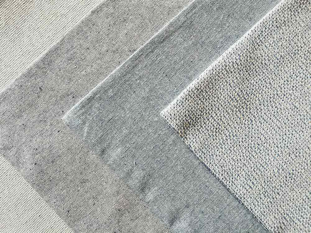 Woven Fabric, Production of The New Recycled Denim Bag in Guatemala