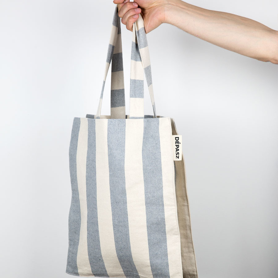 Recycled Lovely Stripes Shopper Bag, Dépasz