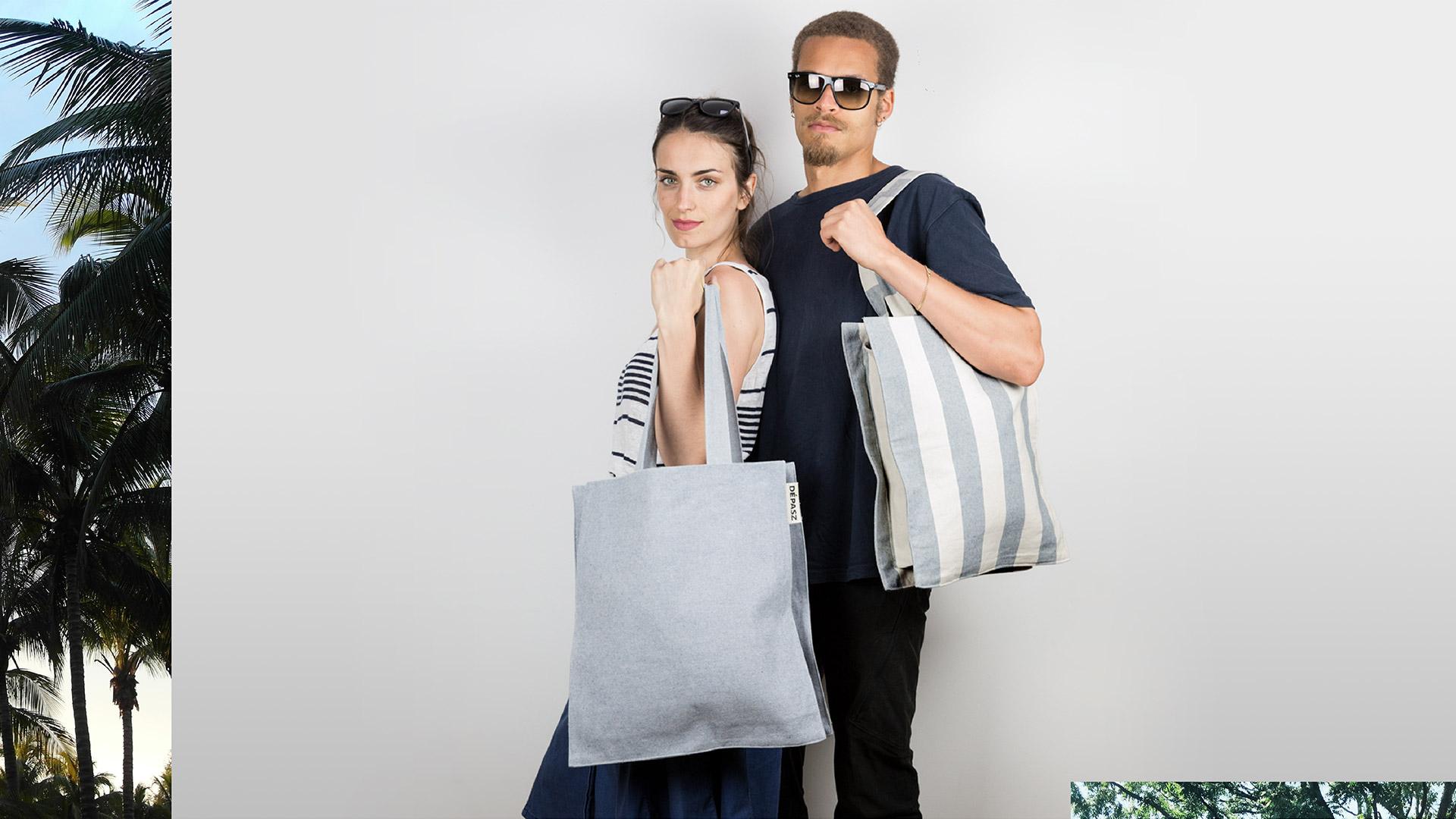 The New Recycled Denim Shopper Bag, Dépasz