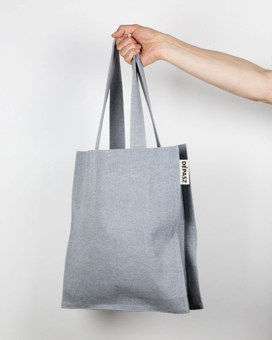 Recycled Pure Denim Shopper Bag, Recycled Pure Denim, Dépasz